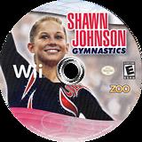 Shawn Johnson Gymnastics Wii disc (SJVE20)