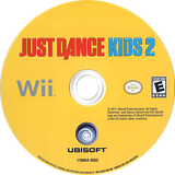 Just Dance Kids 2 Wii disc (SJZE41)