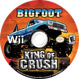 Bigfoot: King of Crush Wii disc (SKCE20)
