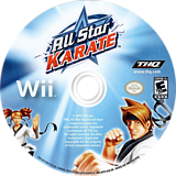 All Star Karate Wii disc (SKTE78)