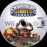 Skylanders: Giants Wii disc (SKYE52)
