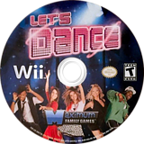 Let's Dance Wii disc (SLDEYG)