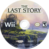 The Last Story Wii disc (SLSEXJ)