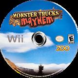 Monster Trucks Mayhem Wii disc (SM4E20)