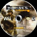 Marines: Modern Urban Combat Wii disc (SMAENR)