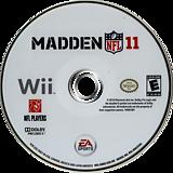 Madden NFL 11 Wii disc (SMEE69)