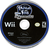 Phineas and Ferb: Across the 2nd Dimension Wii disc (SMFE4Q)