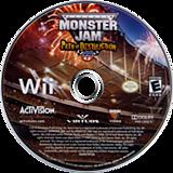 Monster Jam:Path of Destruction Wii disc (SMJE52)