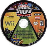 Marvel Super Hero Squad:The Infinity Gauntlet Wii disc (SMSE78)