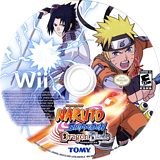Naruto Shippuden: Dragon Blade Chronicles Wii disc (SN4EDA)