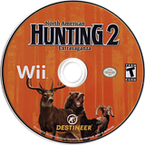 North American Hunting Extravaganza 2 Wii disc (SNEENR)