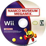 Namco Museum Megamix Wii disc (SNMEAF)