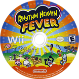 Rhythm Heaven Fever Wii disc (SOME01)