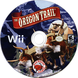 The Oregon Trail Wii disc (SORE4Z)
