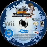 The Penguins of Madagascar: Dr. Blowhole Returns Again! Wii disc (SP8E78)