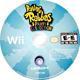 Raving Rabbids Party Collection Wii disc (SR5E41)
