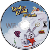 Reader Rabbit 1st Grade Wii disc (SR6EHG)