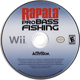 Rapala Pro Bass Fishing Wii disc (SRFE52)