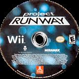 Project Runway Wii disc (SRNE70)