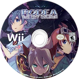 Rodea the Sky Soldier Wii disc (SROENS)
