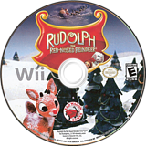 Rudolph the Red-Nosed Reindeer Wii disc (SRUE4Z)