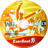 ExerBeat: Gym Class Workout Wii disc (SRYEAF)