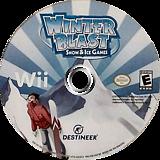 Winter Blast: 9 Snow & Ice Games Wii disc (SSIENR)