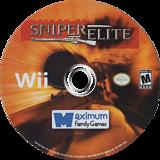 Sniper Elite Wii disc (SSNEYG)