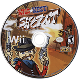 Wild West Shootout Wii disc (SSRE20)