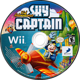 Kid Adventures: Sky Captain Wii disc (SSTEG9)