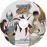Tatsunoko vs. Capcom: Ultimate All-Stars Wii disc (STKE08)