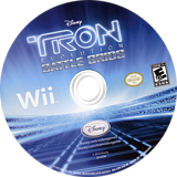 Tron: Evolution - Battle Grids Wii disc (STRE4Q)