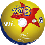 Toy Story 3 Wii disc (STSE4Q)