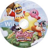 Kirby's Return to Dream Land Wii disc (SUKE01)