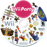 Wii Party Wii disc (SUPE01)
