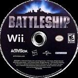 Battleship Wii disc (SVBE52)