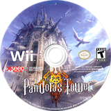Pandora's Tower Wii disc (SX3EXJ)