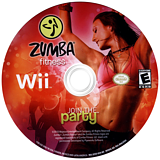 Zumba Fitness Wii disc (SZ5E5G)