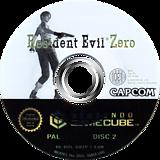 Resident Evil Zero GameCube disc (GBZP08)