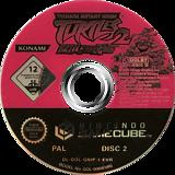 Teenage Mutant Ninja Turtles 2: Battle Nexus GameCube disc (GNIPA4)