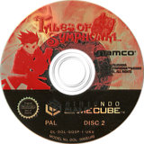 Tales of Symphonia GameCube disc (GQSPAF)