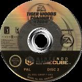 Tiger Woods PGA Tour 2004 GameCube disc (GW4P69)