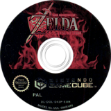 The Legend of Zelda: The Wind Waker GameCube disc (GZLP01)