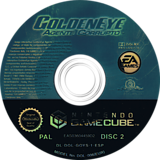 GoldenEye:Agente Corrupto GameCube disc (GOYS69)