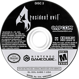 Resident Evil 4 GameCube disc (G4BE08)