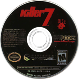 Killer7 GameCube disc (GK7E08)