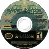 Baten Kaitos Eternal Wings and the Lost Ocean GameCube disc (GKBEAF)