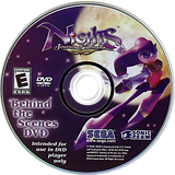 NiGHTS: Journey of Dreams Wii disc (R7EE8P)