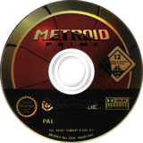 Metroid Prime GameCube disc (GM8P01)