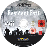 Resident Evil Archives: Resident Evil Wii disc (RE4P08)